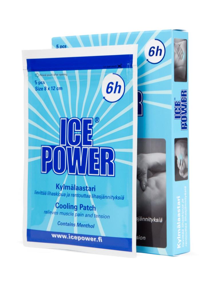 ice power kylande gel